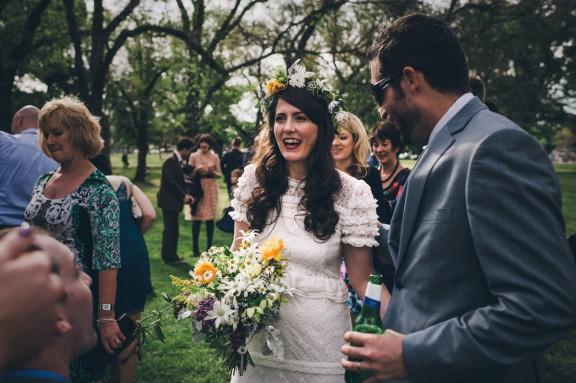Edinburgh Gardens and Thornbury Theatre Rock n Roll Wedding by Lucy Spartalis