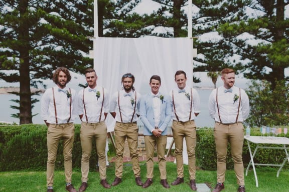 Adelaide Beach wedding at Middleton Beach Huts   Photography by Beck Rocchi