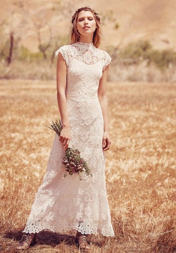 Free People Bridal   Affordable wedding dresses for the boho bride