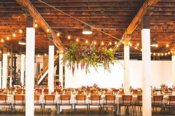 A vibrant industrial wedding with Middle Eastern influence at PSAS, Fremantle | Photography by Keeper Creative