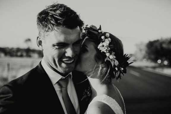 Jess & Adam's rainy farm wedding   Photography by I Got You Babe