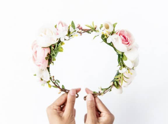 K is for Kani floral headpiece   Top Australian Etsy Stores for Weddings