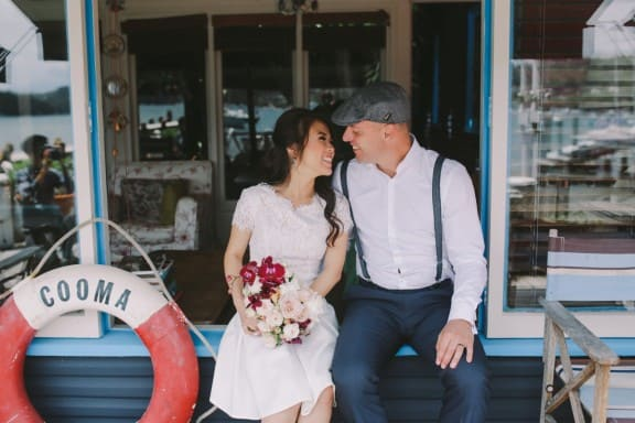 A nautical elopement at Sydney's Snapper Lodge | Photography by Lara Hotz