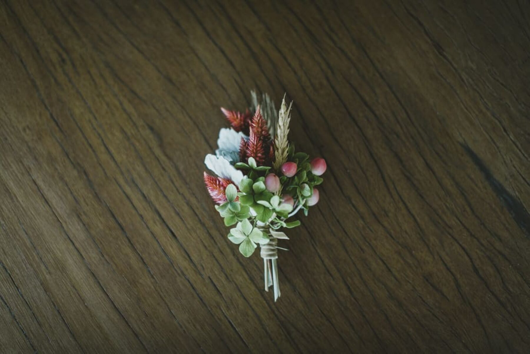 boutonniere by Mikarla Bauer / Nina Claire Photography