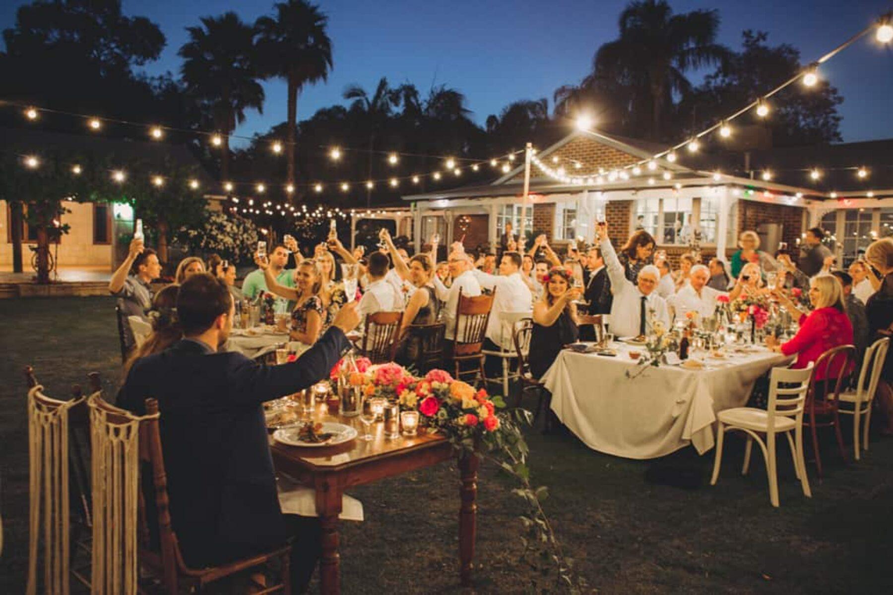 DIY backyard wedding / Sarah Jean Photography