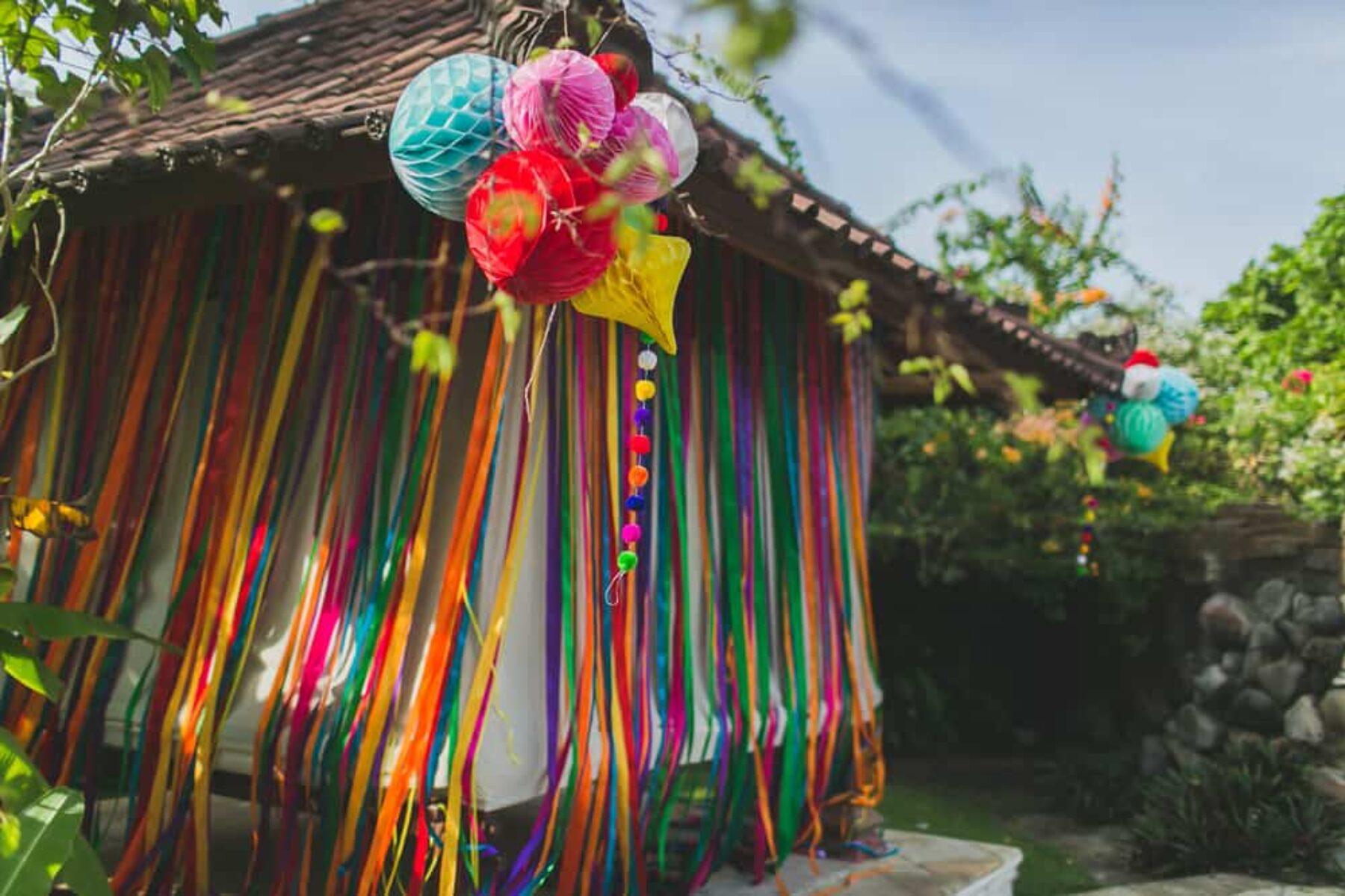Colourful Bali wedding at Umalas / photography by Gui Jorge