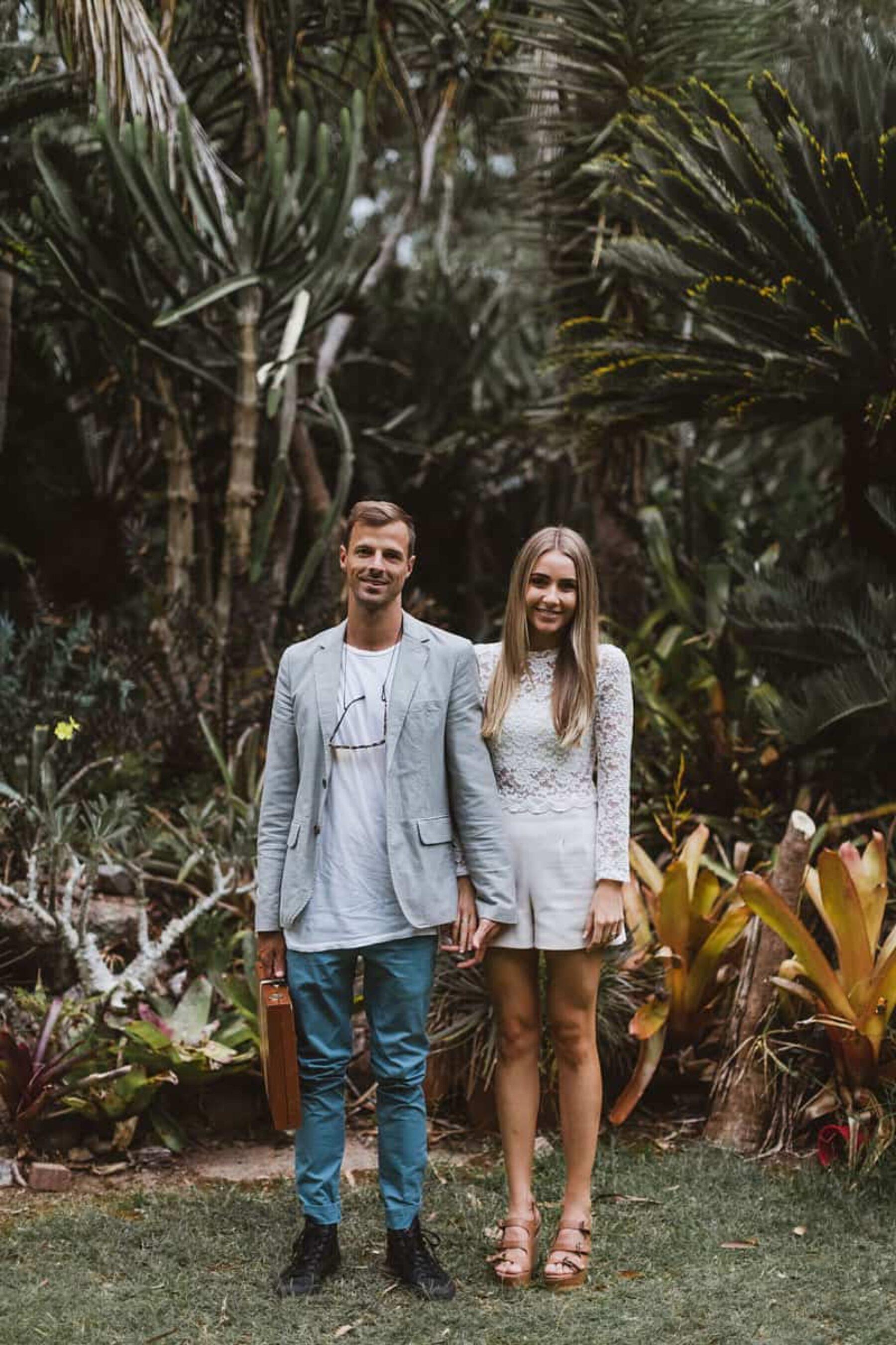 Cactus farm engagement shoot / photography by Janneke Storm