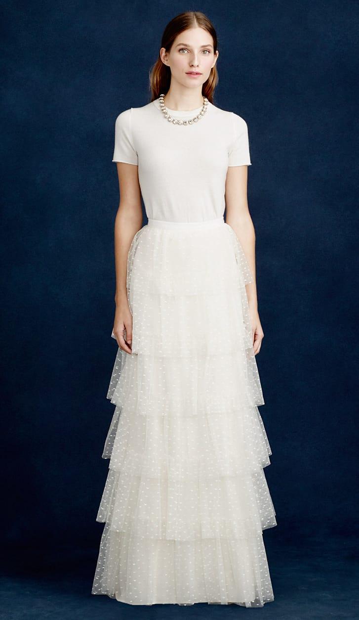 Bridal Separates J.Crew - Amelia tulle skirt