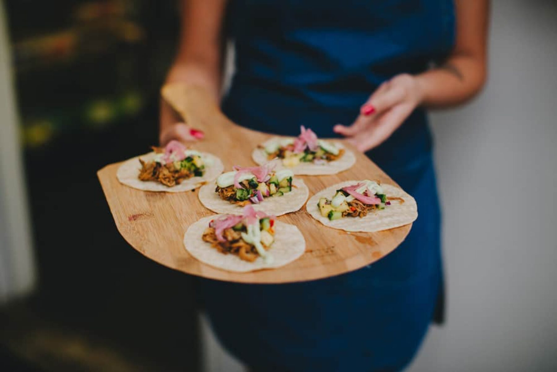 dirty pulled-pork tacos