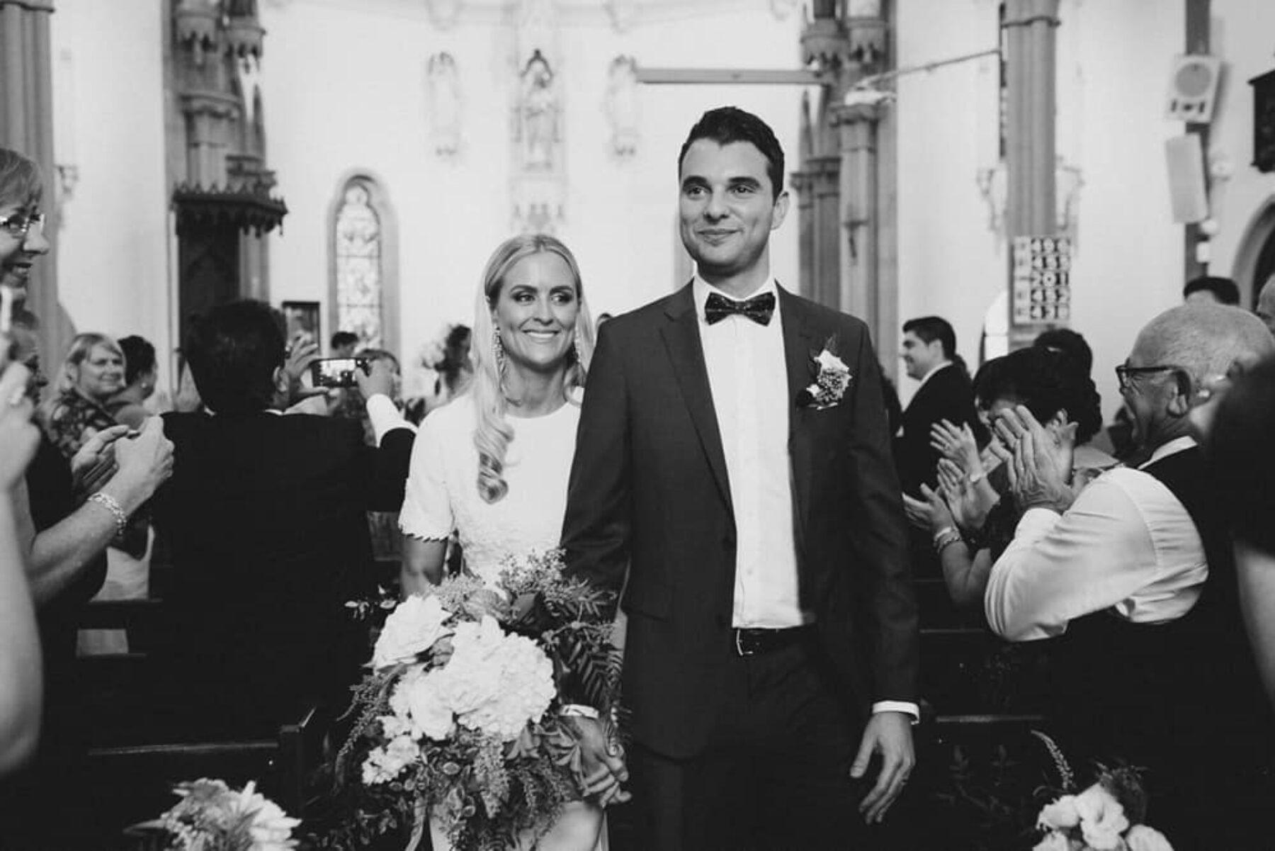 Holy Name of Mary Church wedding, Hunters Hill Sydney