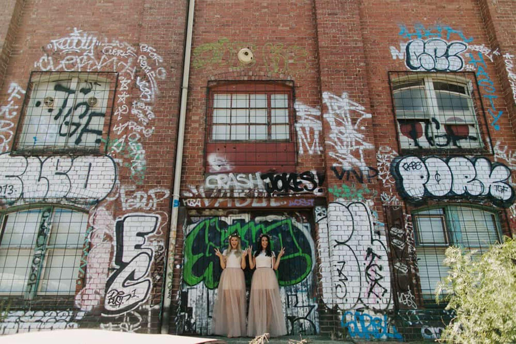 Melbourne warehouse wedding at Kensington Collective