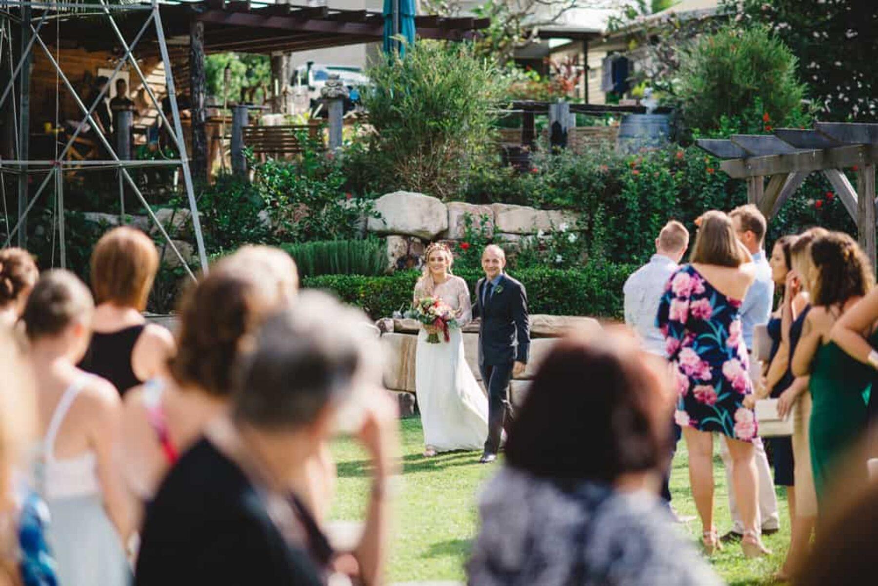 boho wedding at Braeside Gold Coast