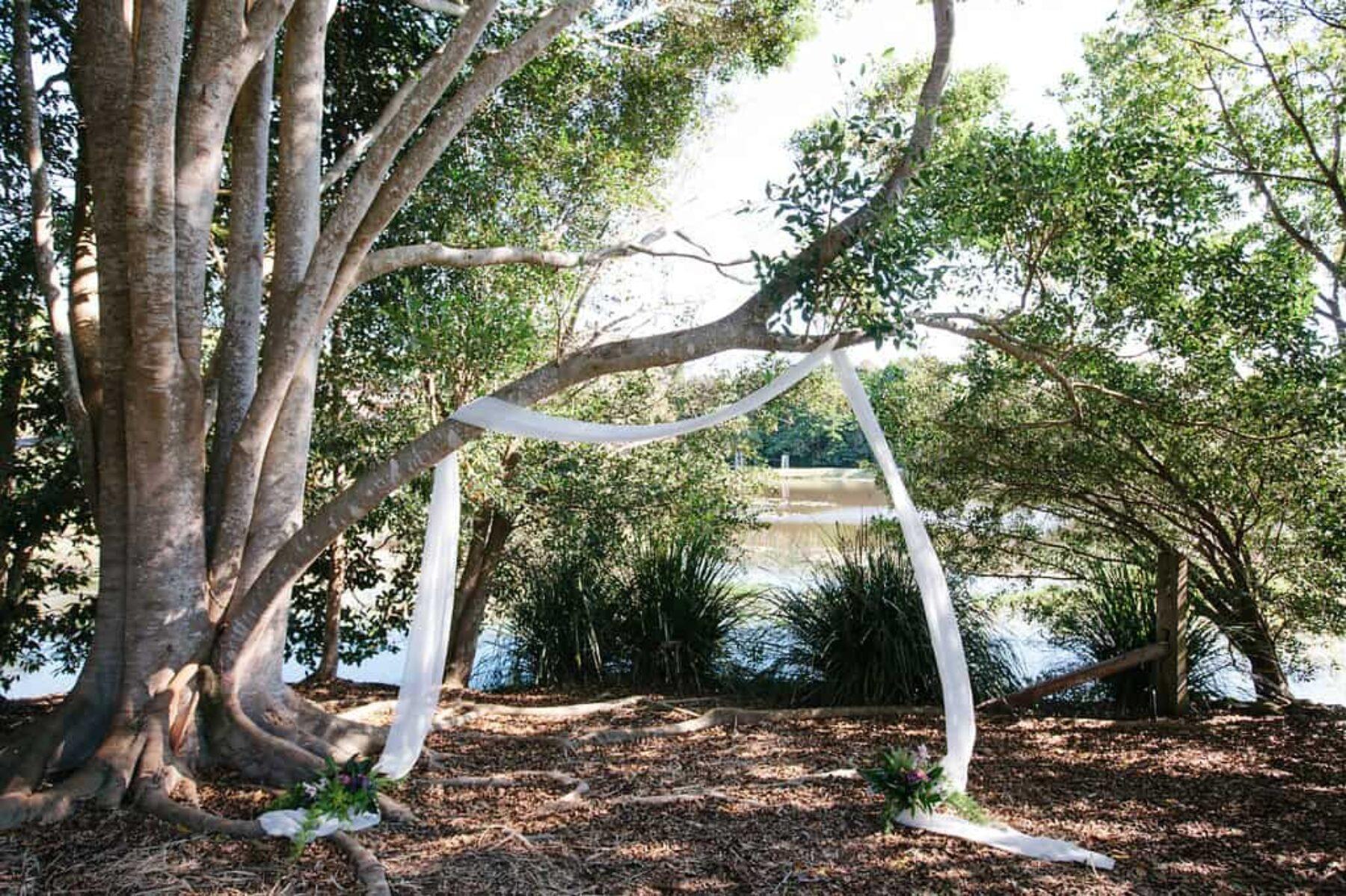 Byron Bay hinterland wedding - photography by Brooke Adams