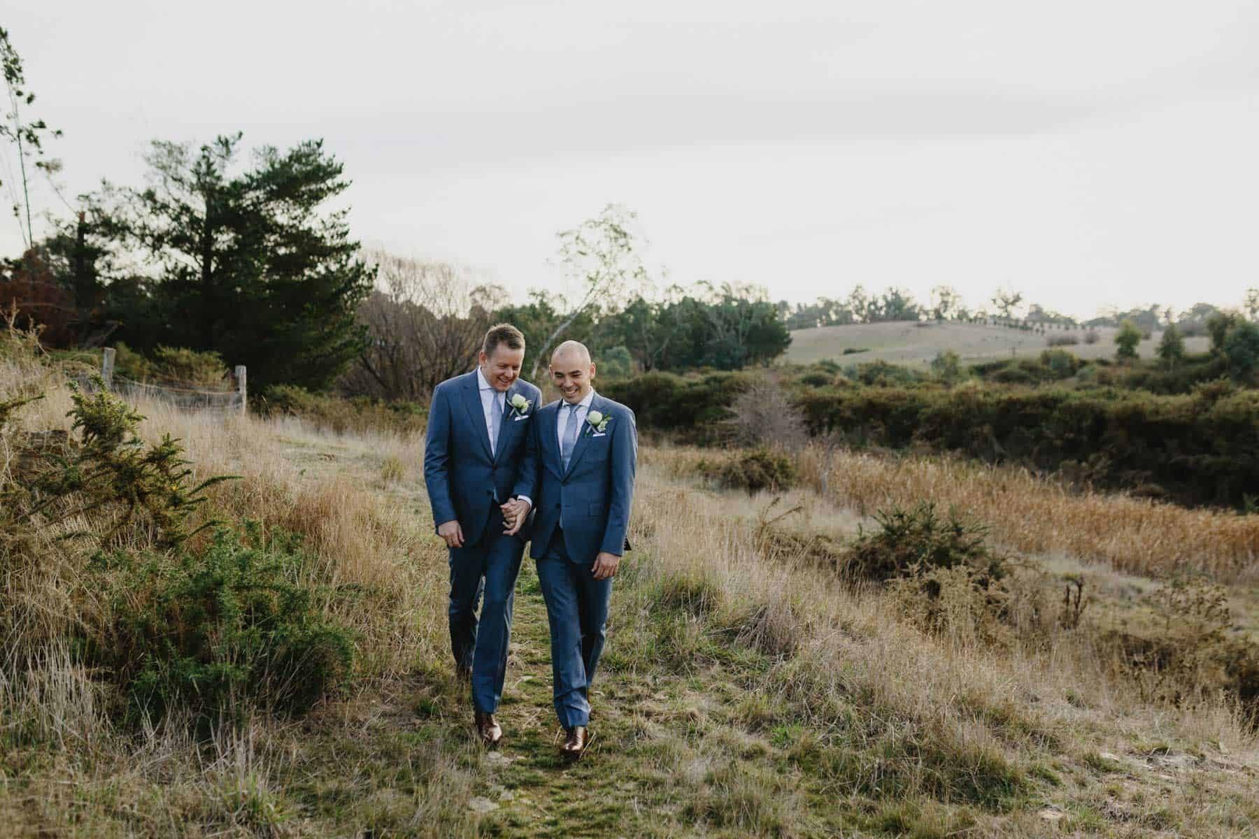 Long Way Home - same sex wedding photography Melbourne