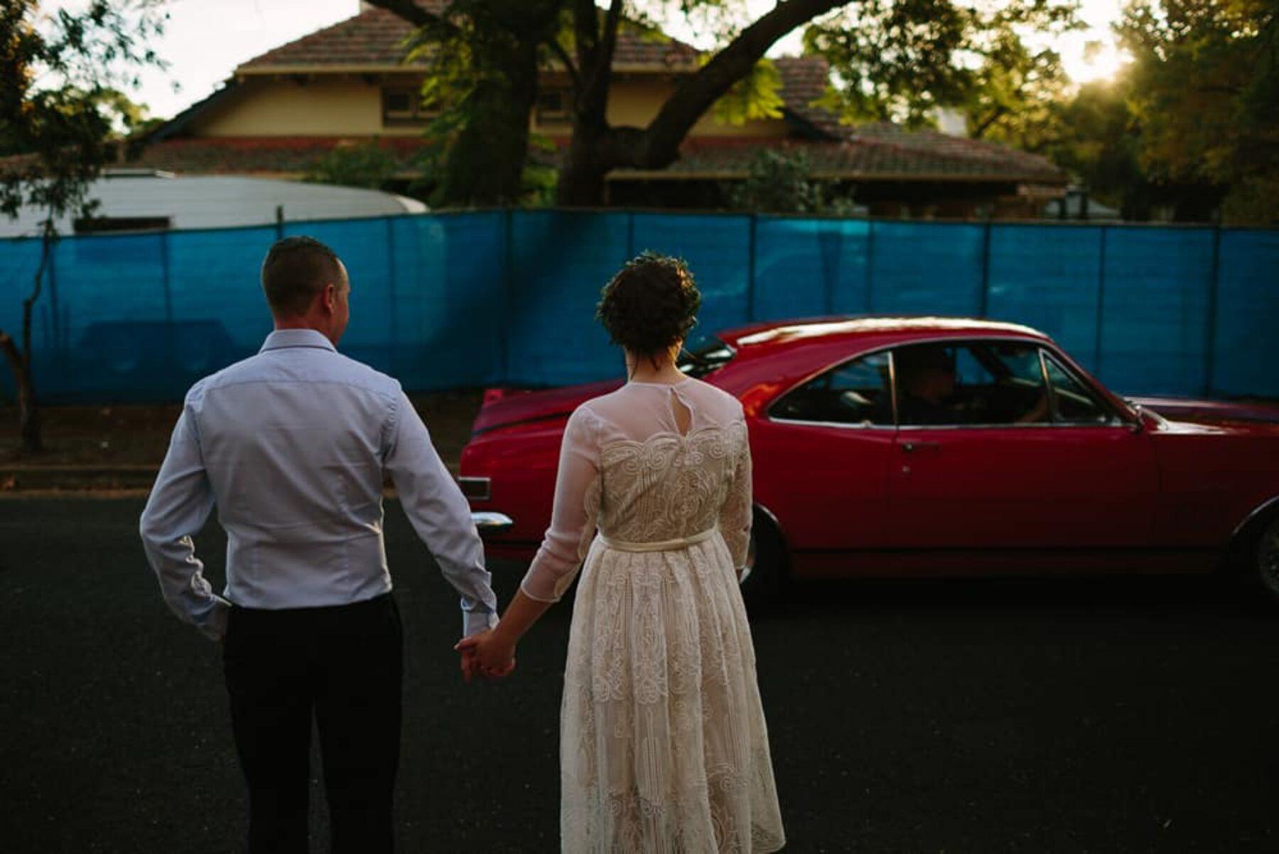 boho backyard wedding by Adeliade photographer Dave Pascoe