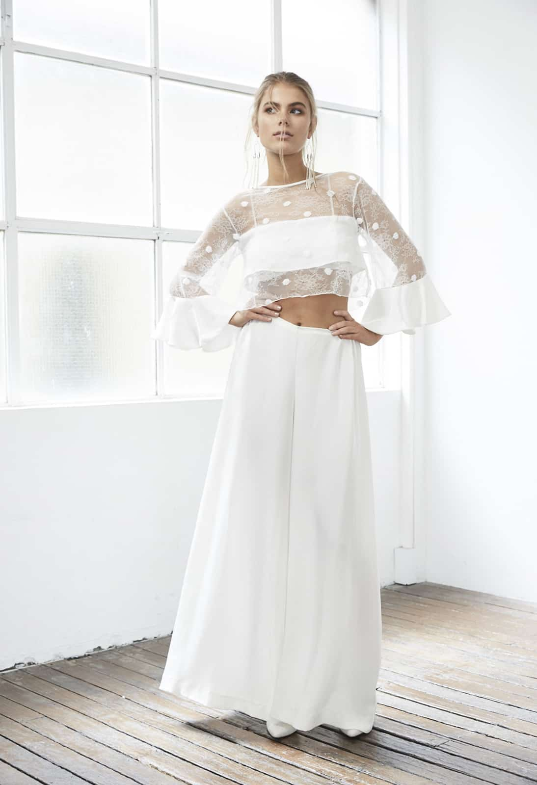 Top wedding dresses under $1000 - bridal separates by Grace Loves Lace