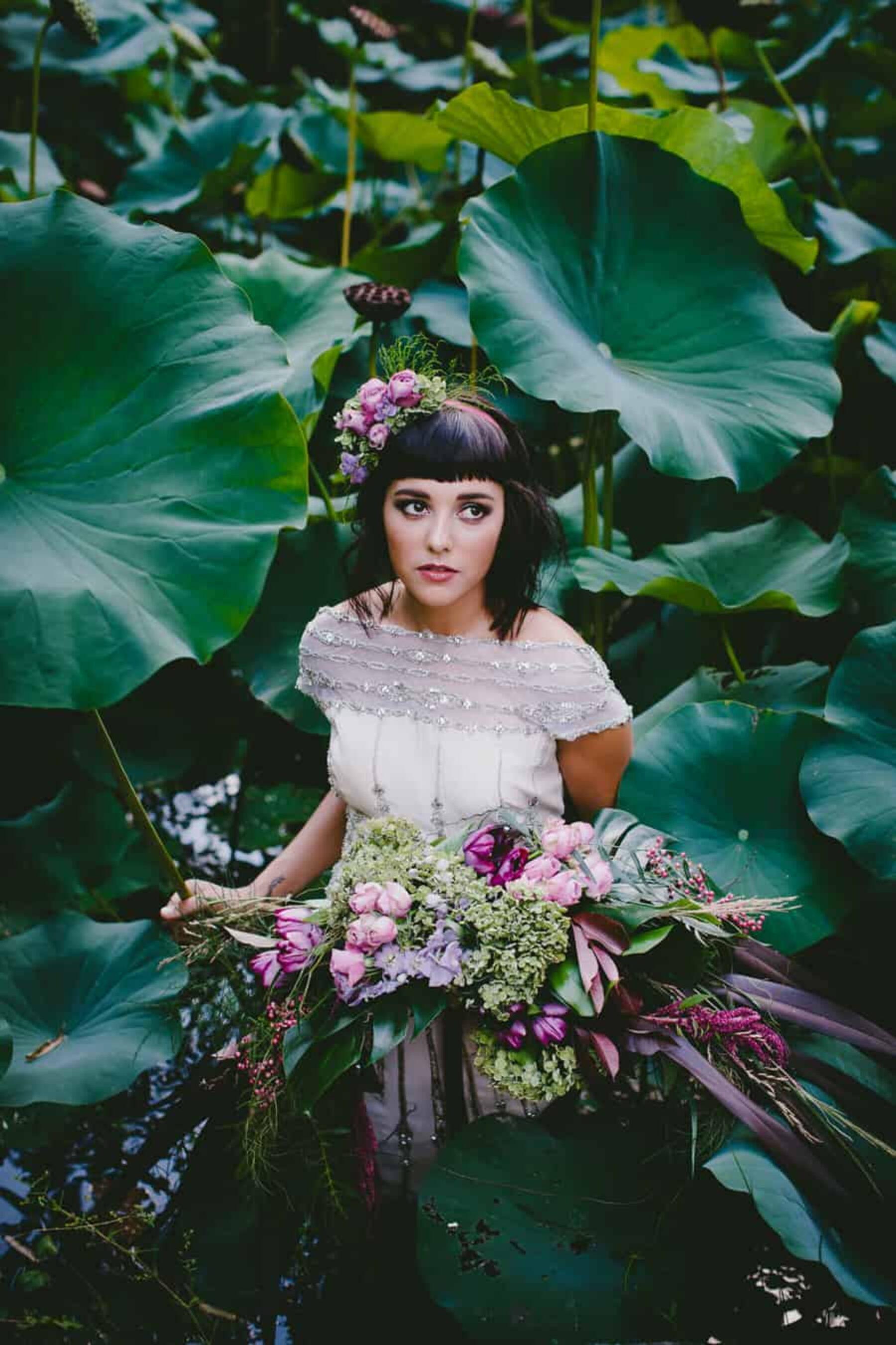 tropical rainforest wedding