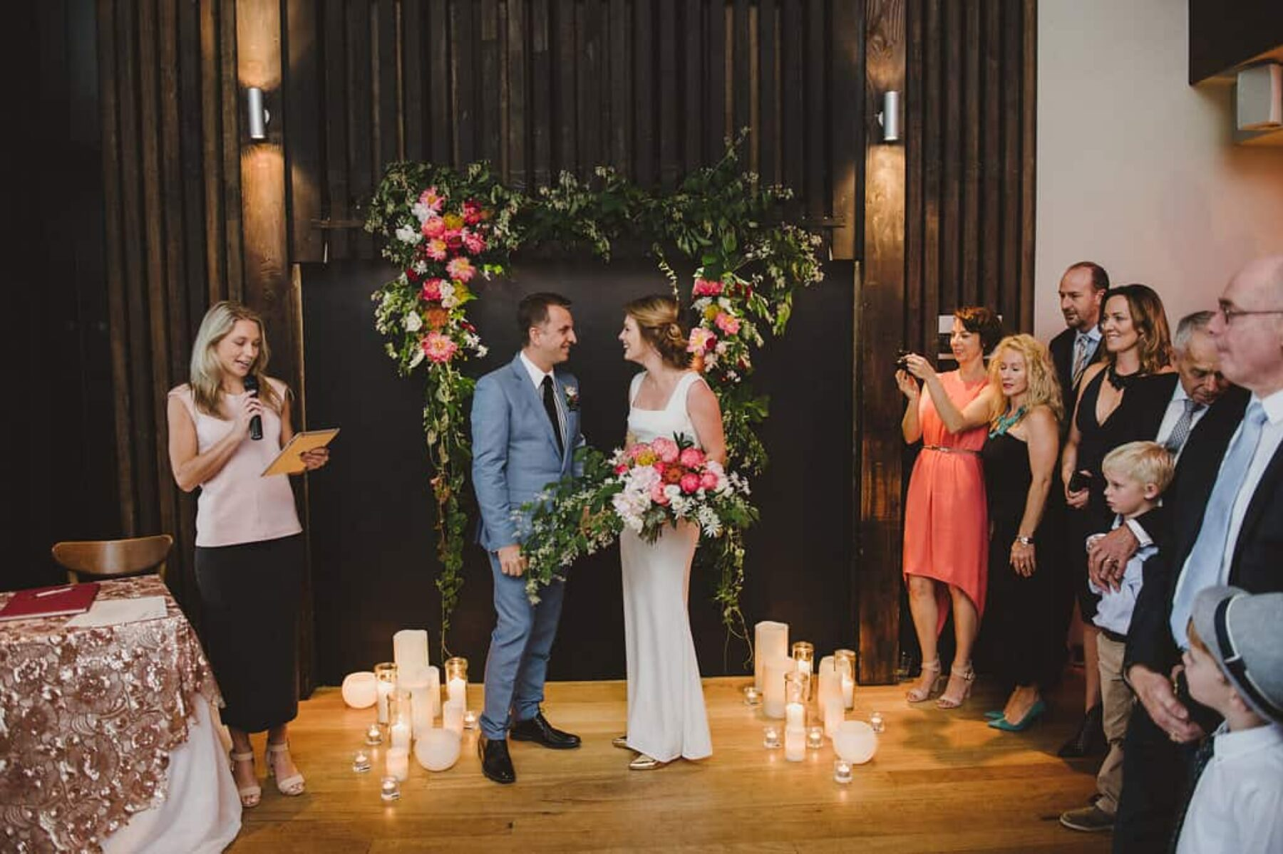 Modern Sydney wedding at Cafe Morso - photography by Lauren Campbell