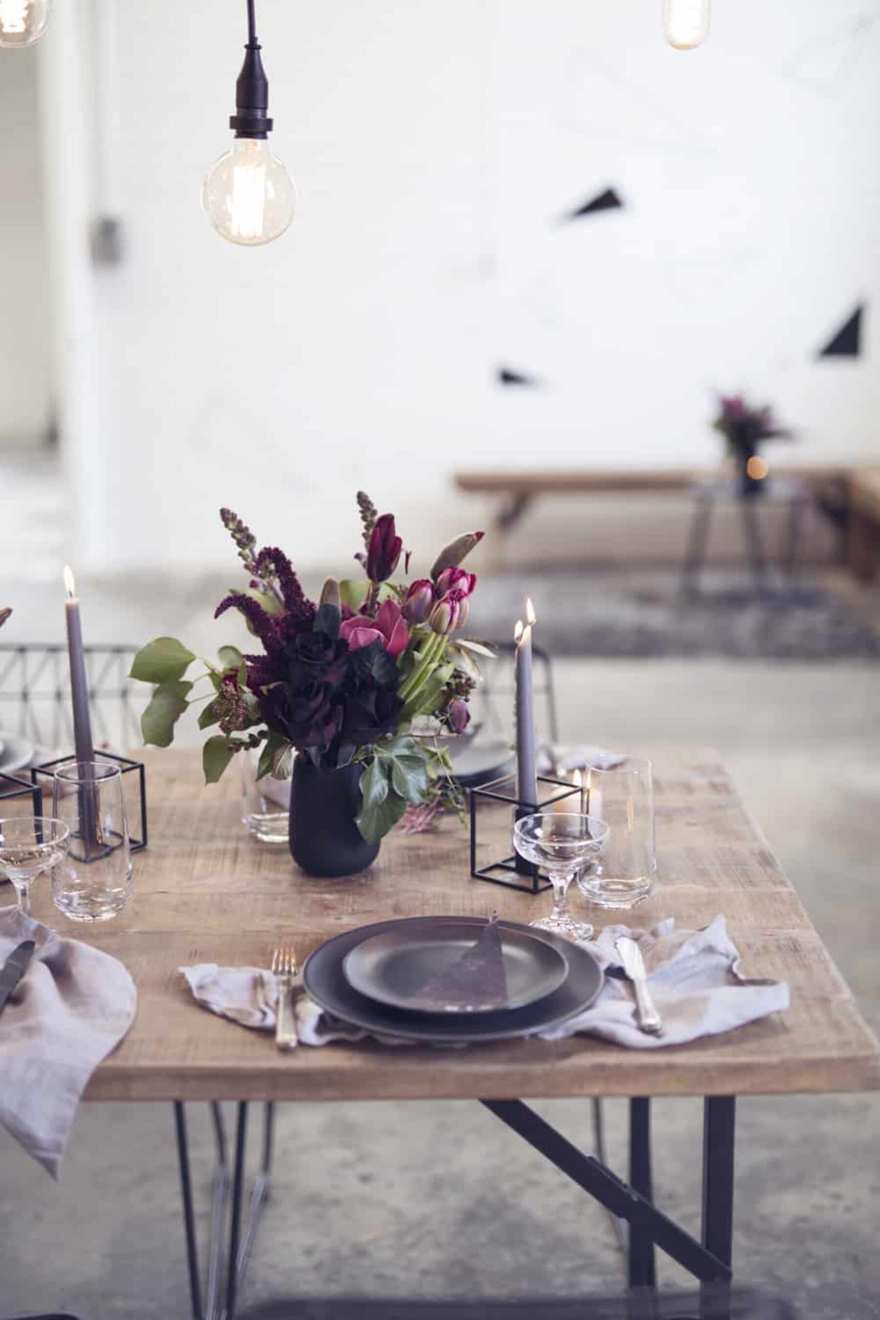 Modern industrial warehouse wedding inspiration