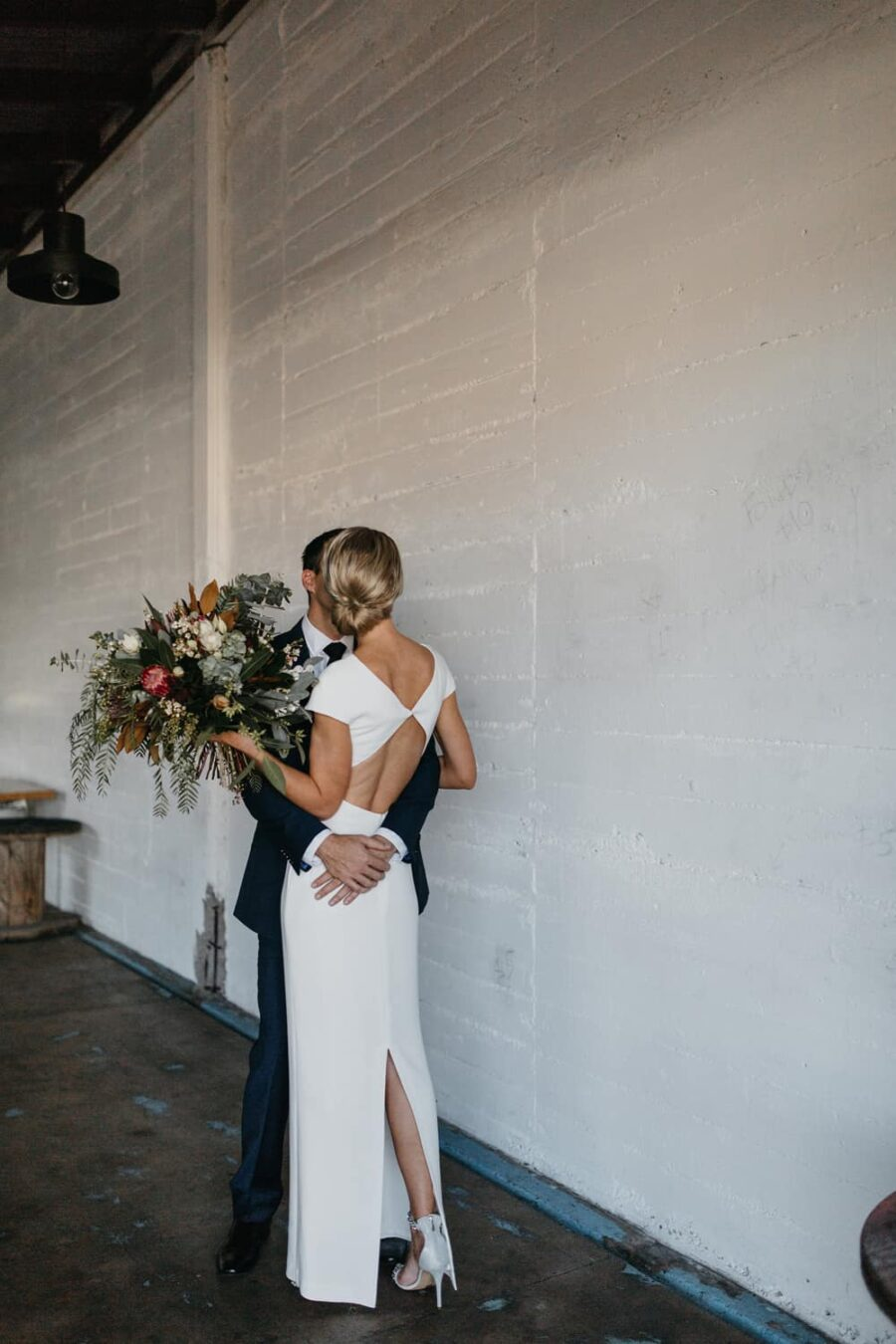 Modern Townsville warehouse wedding – photography by SB Creative Co.