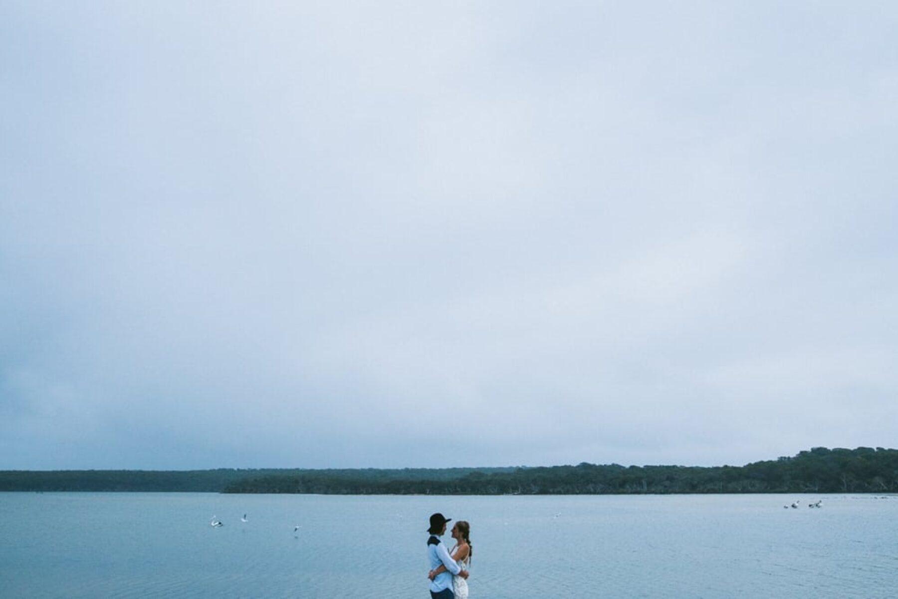 relaxed beach wedding at Bremer Bay WA - photography by Jenna Mason