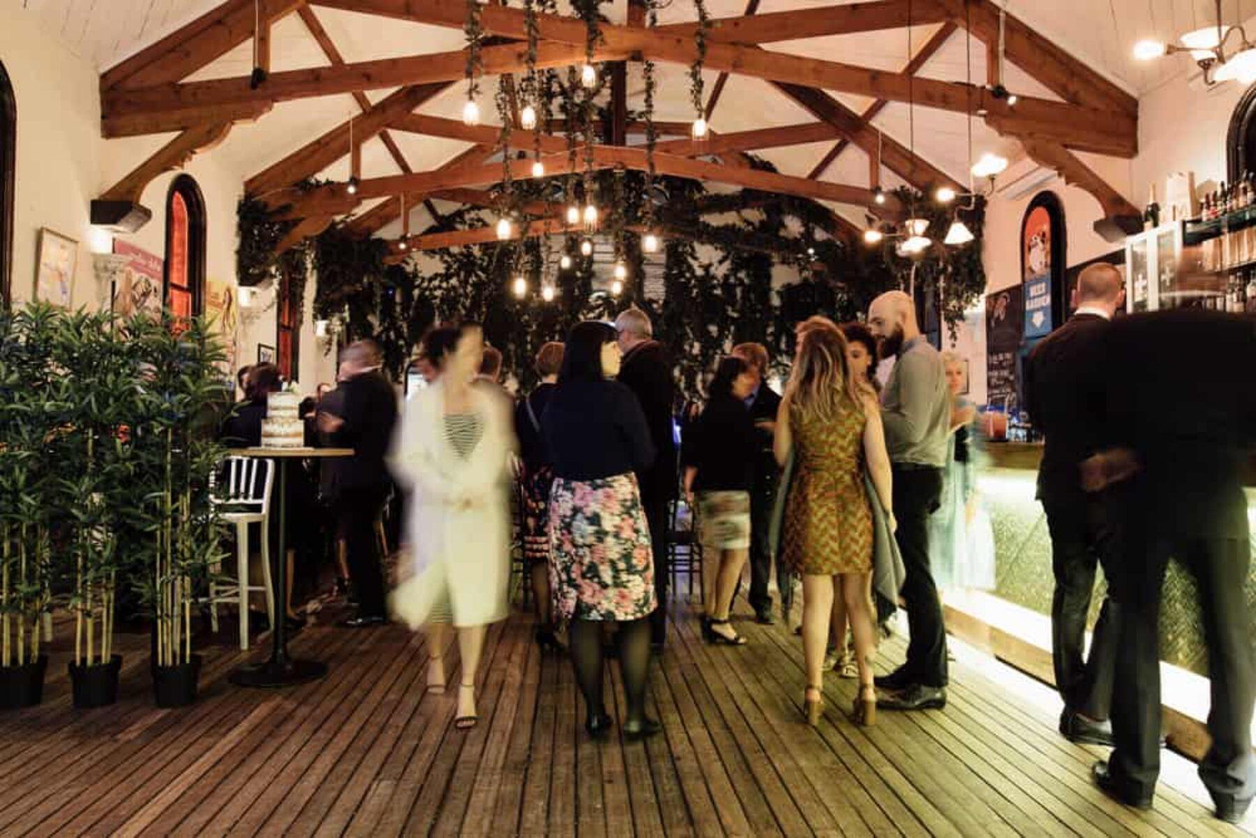Brunswick Mess Hall wedding - Free the Bird Photography