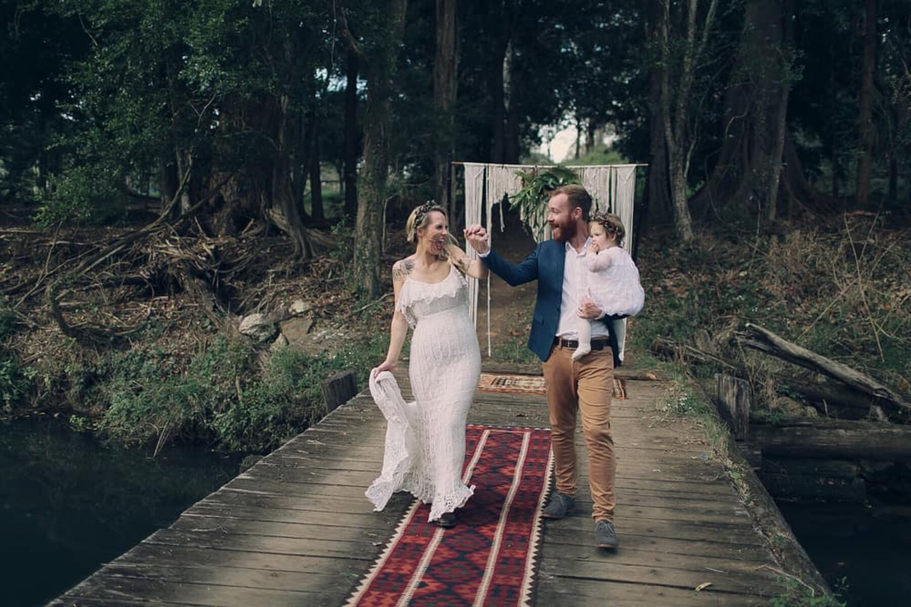 Intimte tipi elopement in the Gold Coast Hinterland