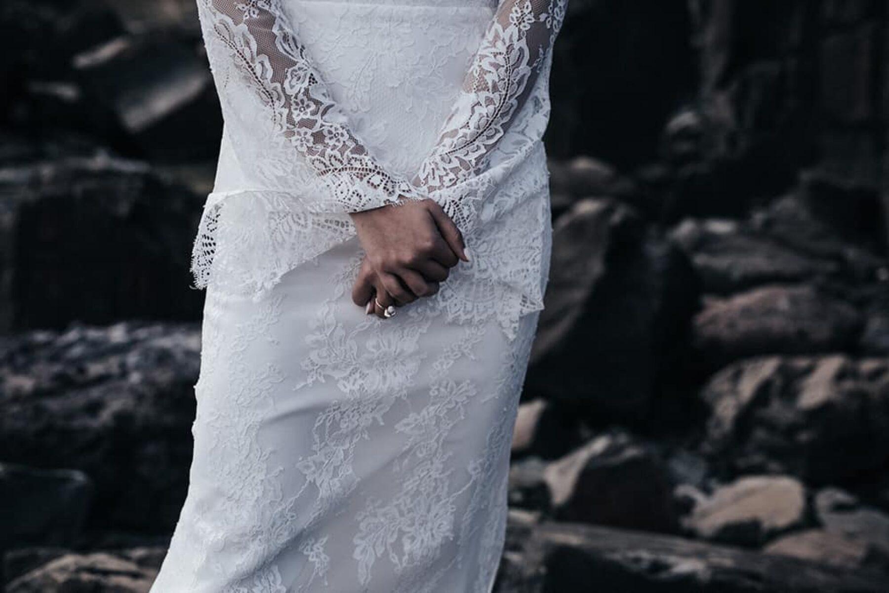2017 collection by Sydney bridal designer Prea James Couture