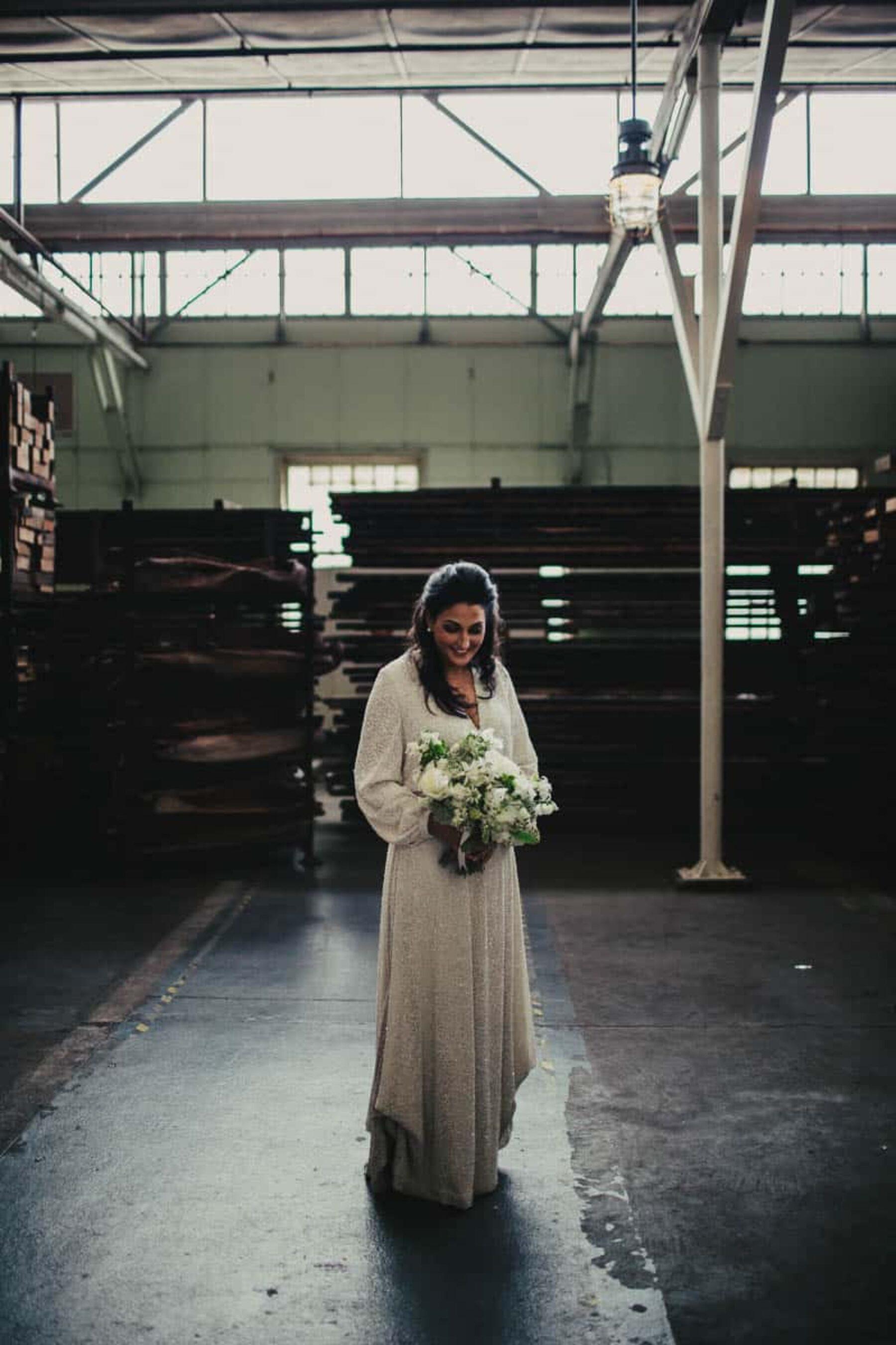 modern kaftan wedding dress