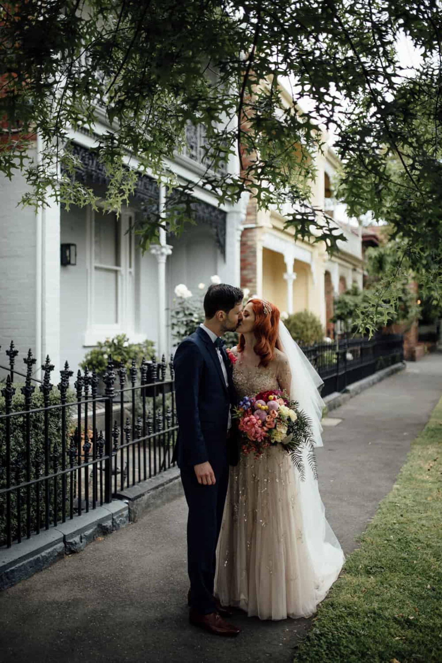 art-inspired Melbourne wedding - Free the Bird Photography