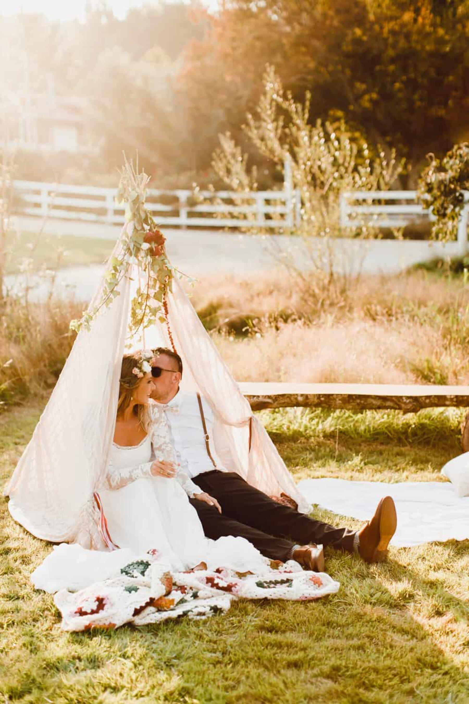 wedding tipi
