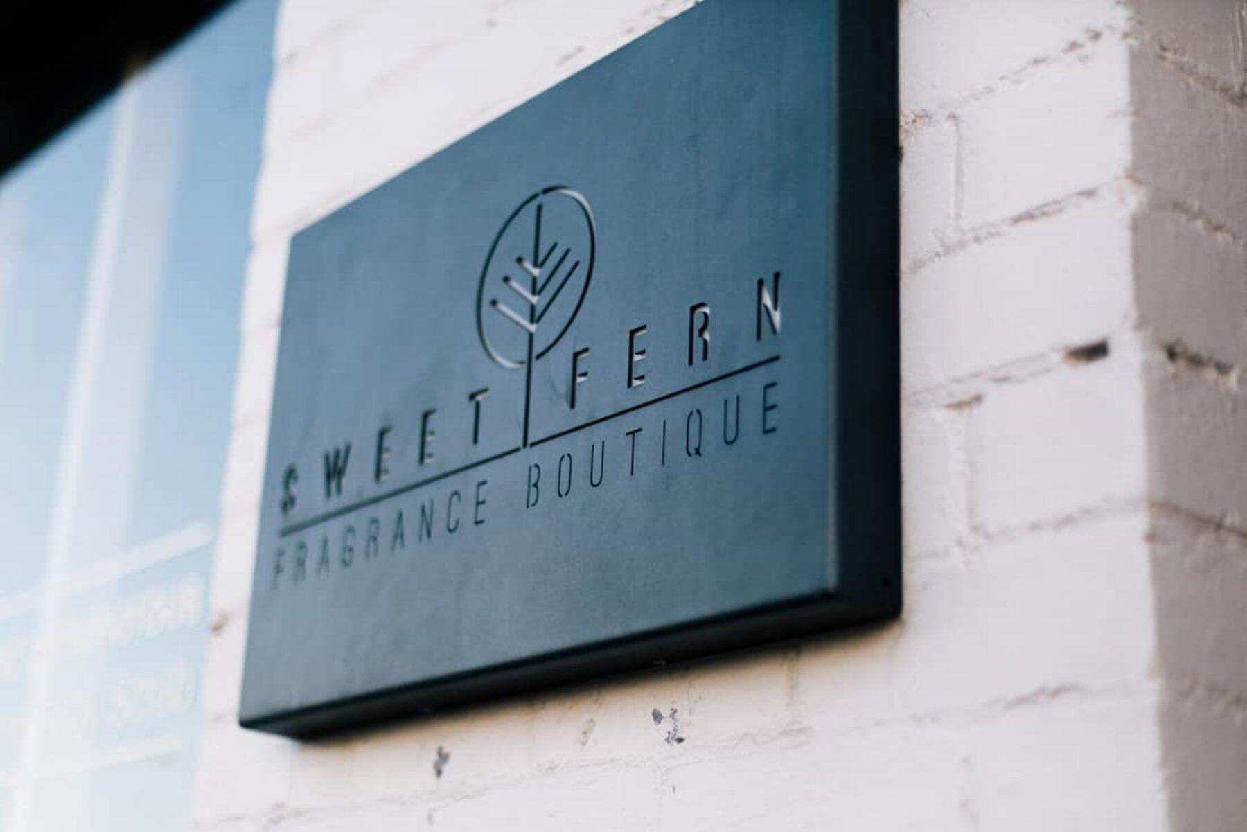 Ballarat engagement shoot at Sweet Fern Fragrance Boutique