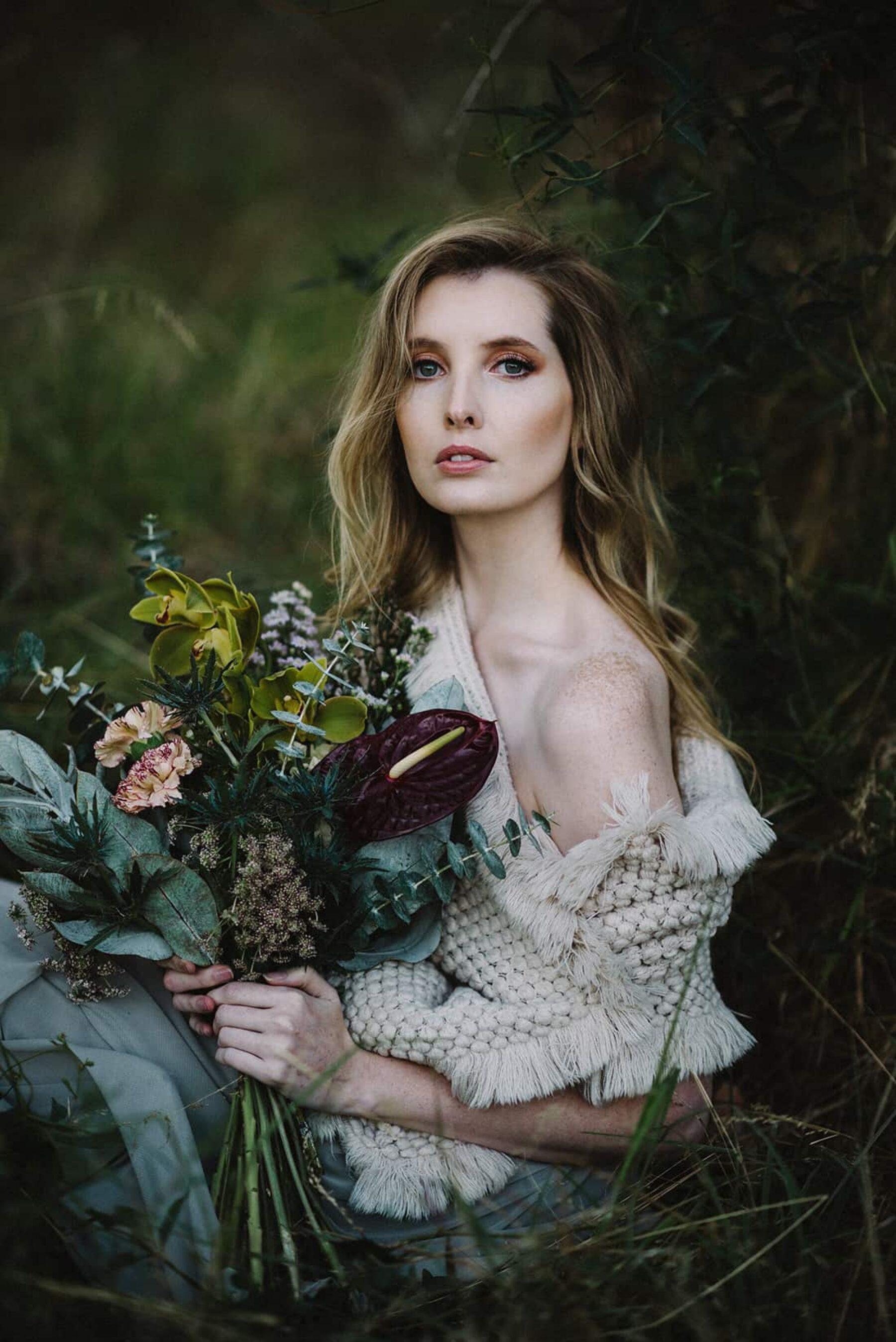 wild unstructured bouquet