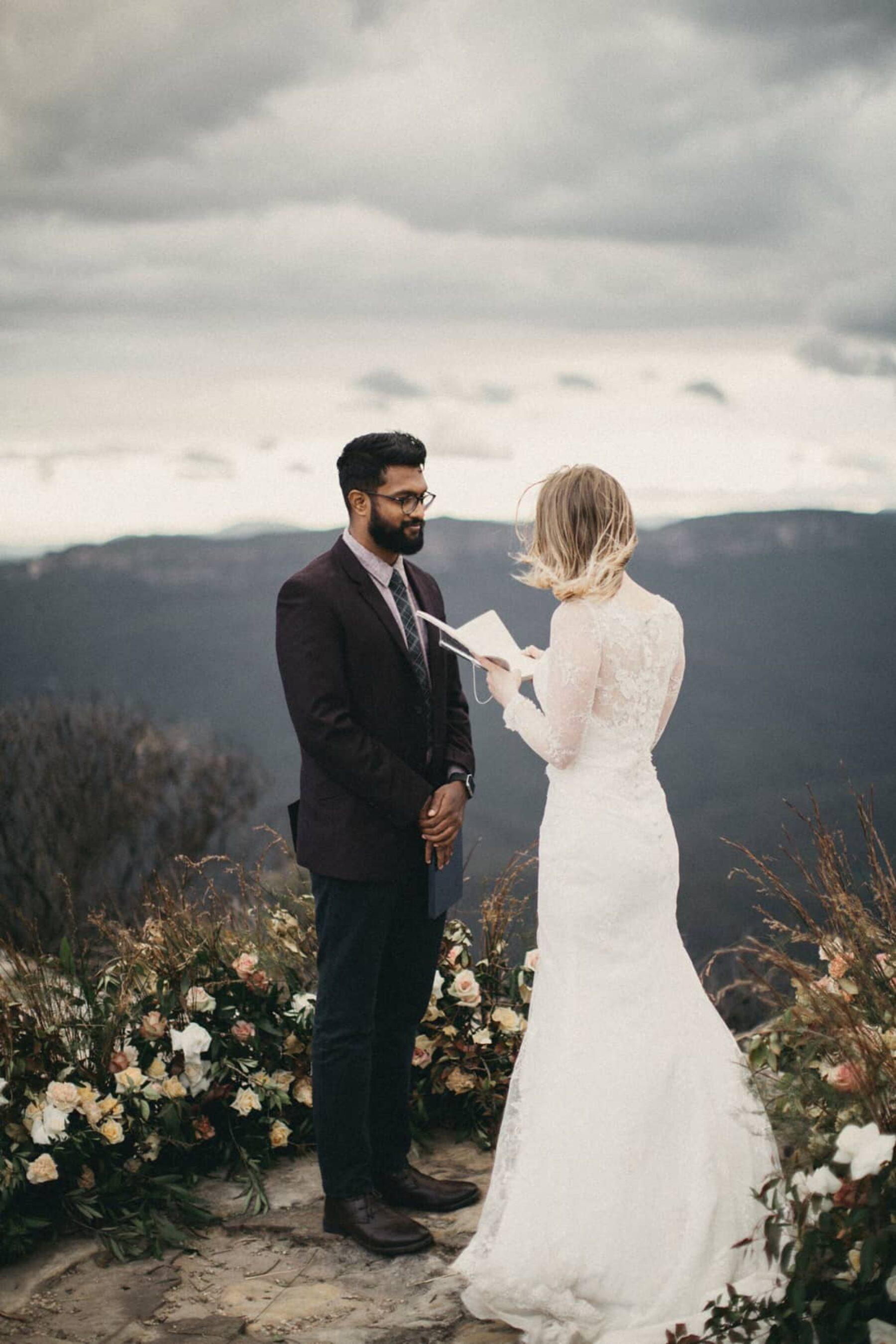 bohemian mountain elopement
