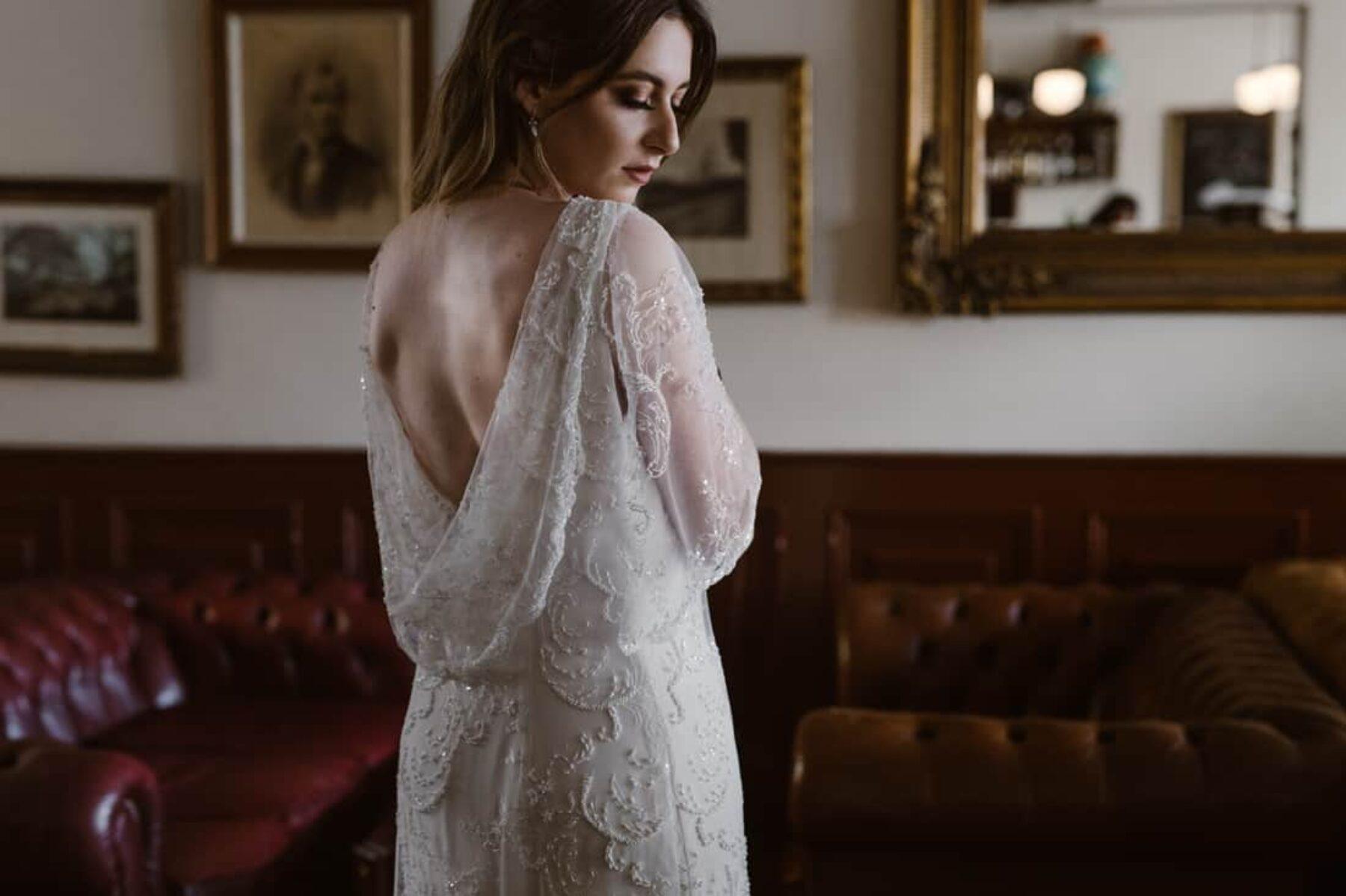 vintage wedding dress by Elvi Design