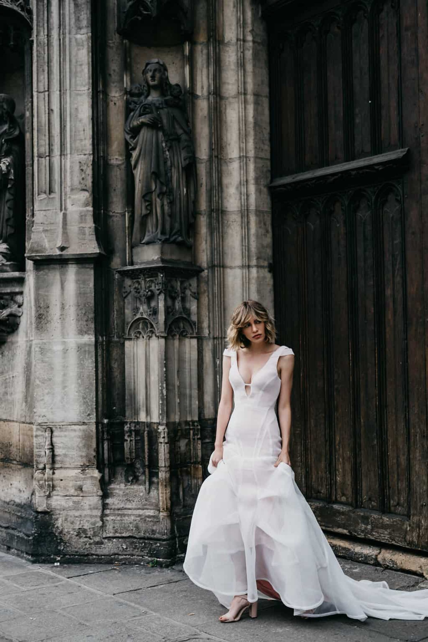 modern bridal by Georgia Young Couture