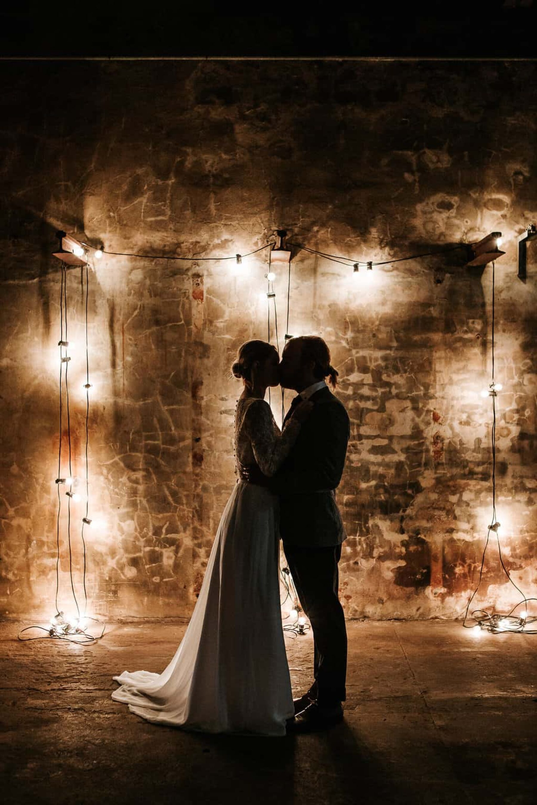 Moody industrial wedding at The Cooperative 1888