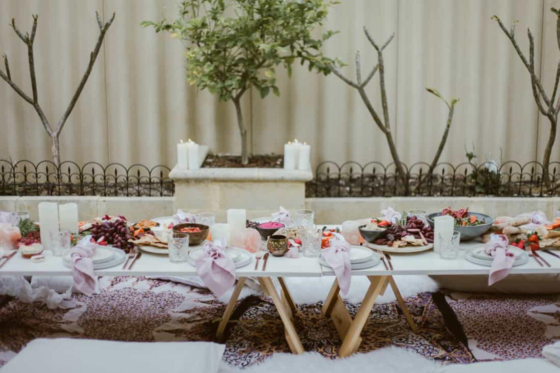 Moroccan-inspired Backyard Hen's Soiree