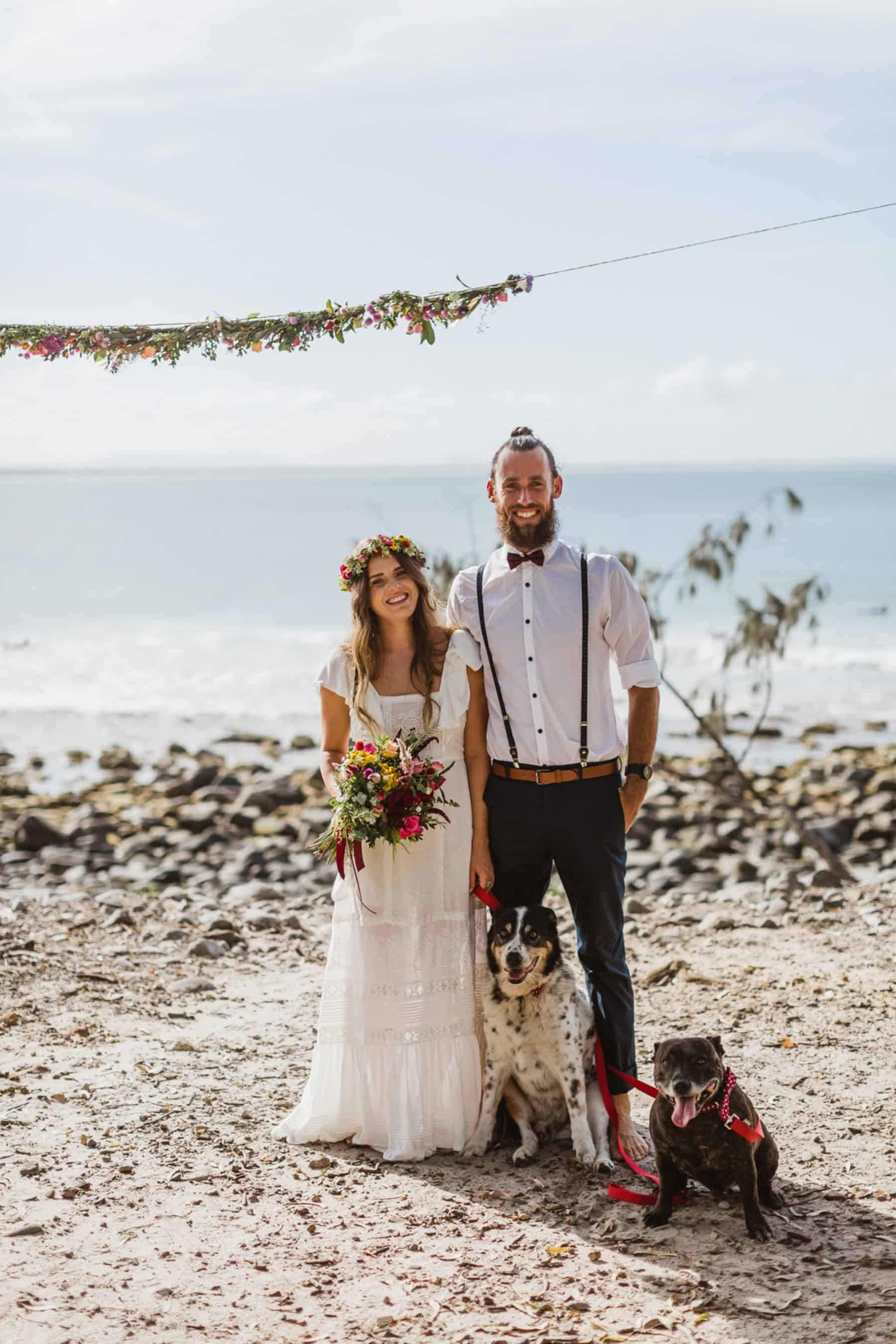 Best of 2017: Groom Style | casual bearded groom with top knot
