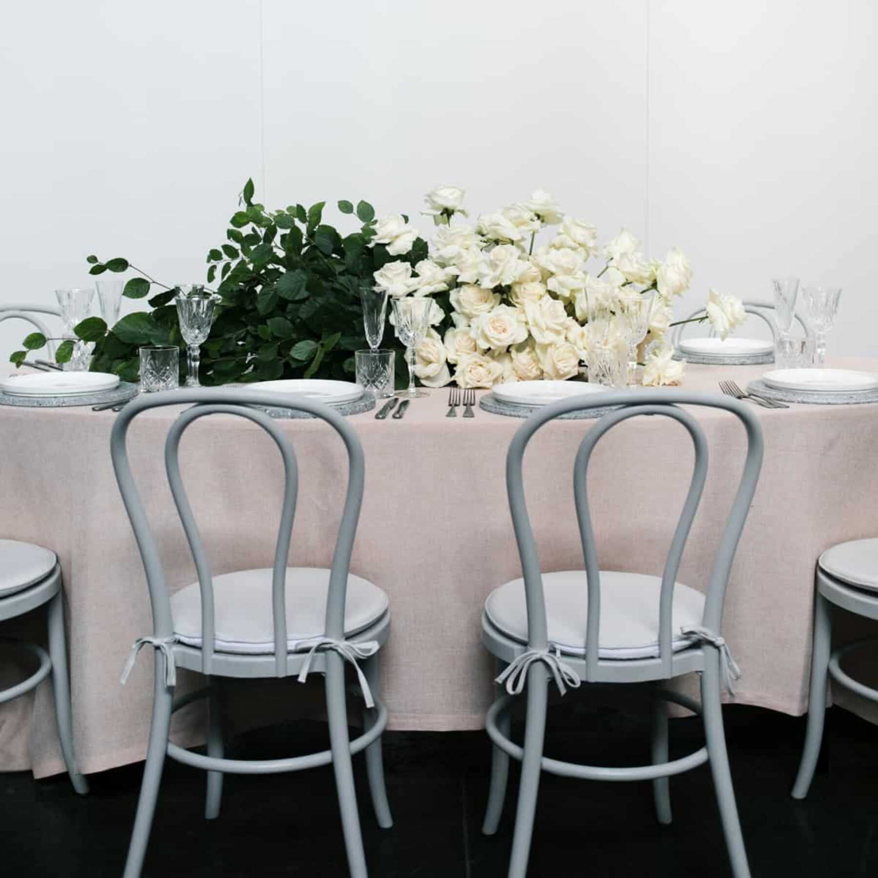 grey bentwood chairs - Dann Event Hire Melbourne