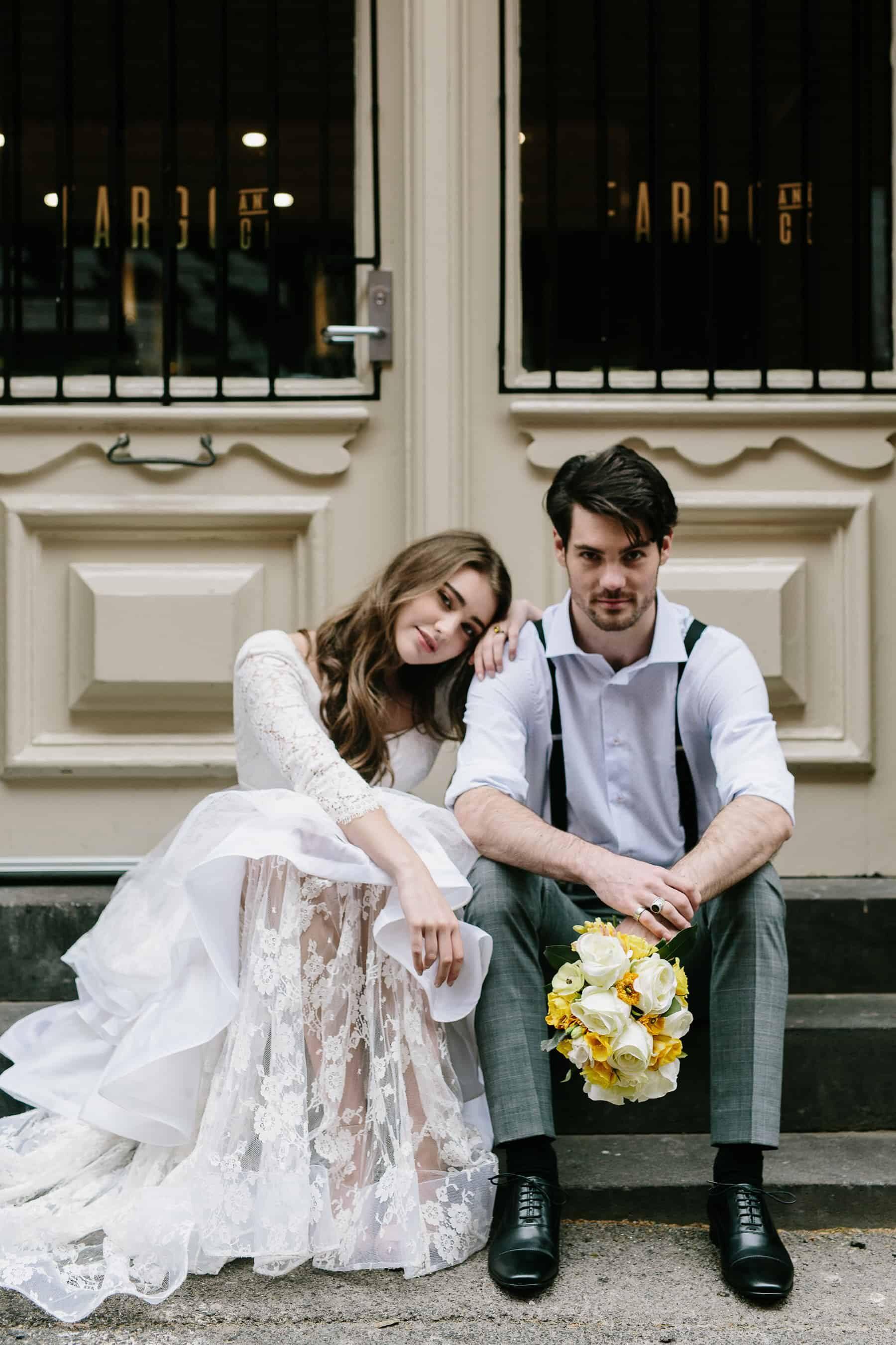 Modern Italian wedding inspiration in Melbourne