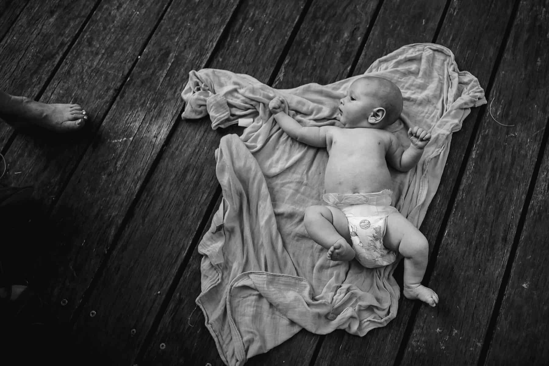fine art baby photography by Oli Sansom