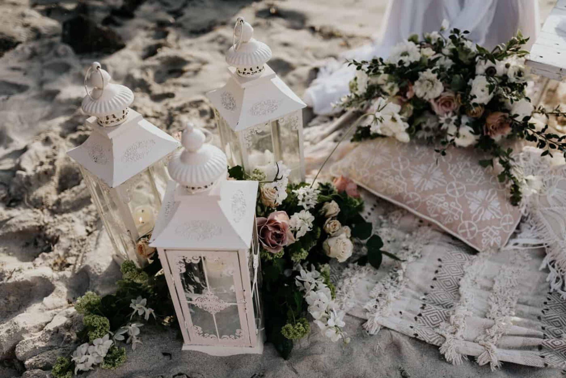 boho beach wedding at Watermans Bay, Perth