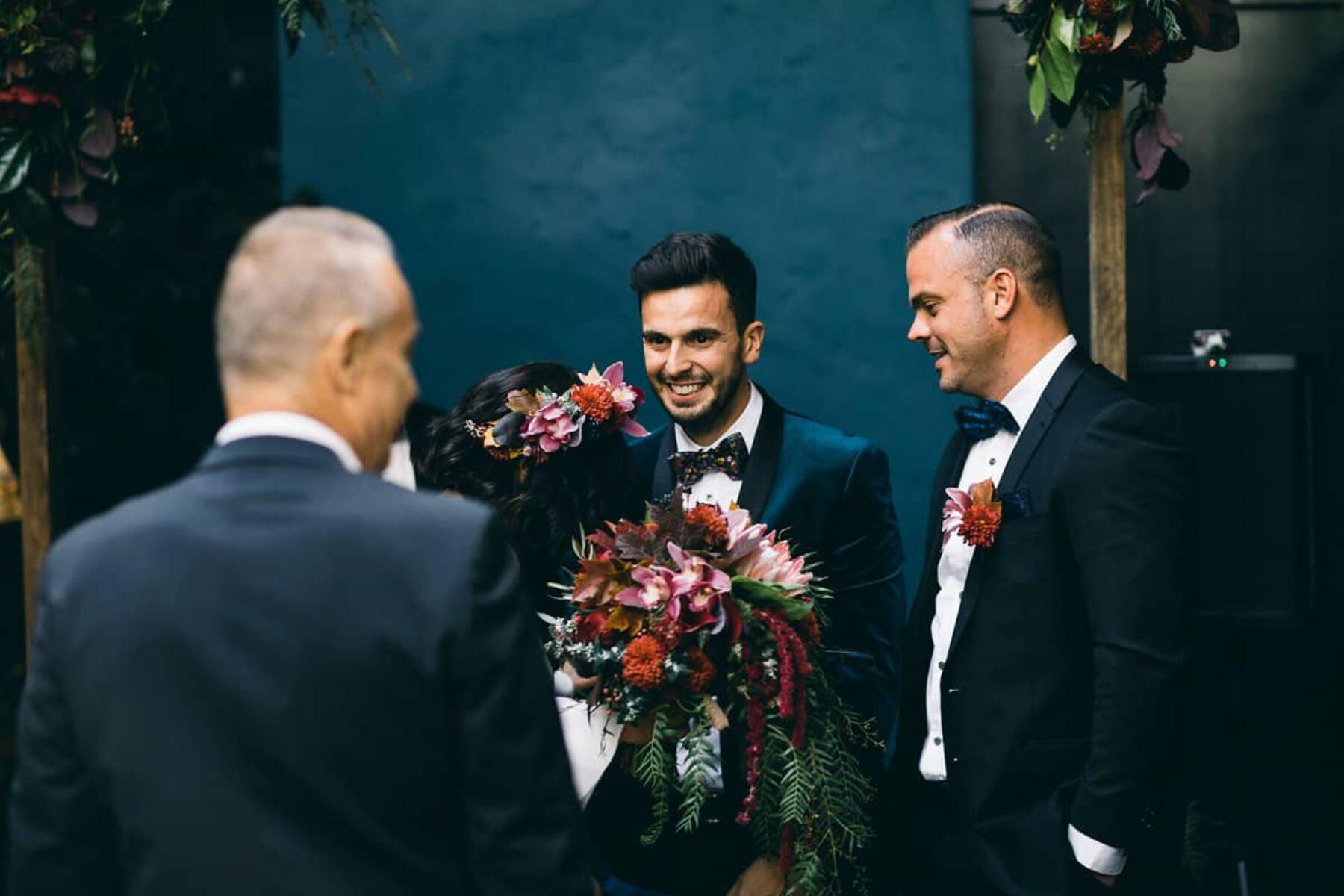 Modern wedding at Rupert on Rupert - Leo Farrell Photography