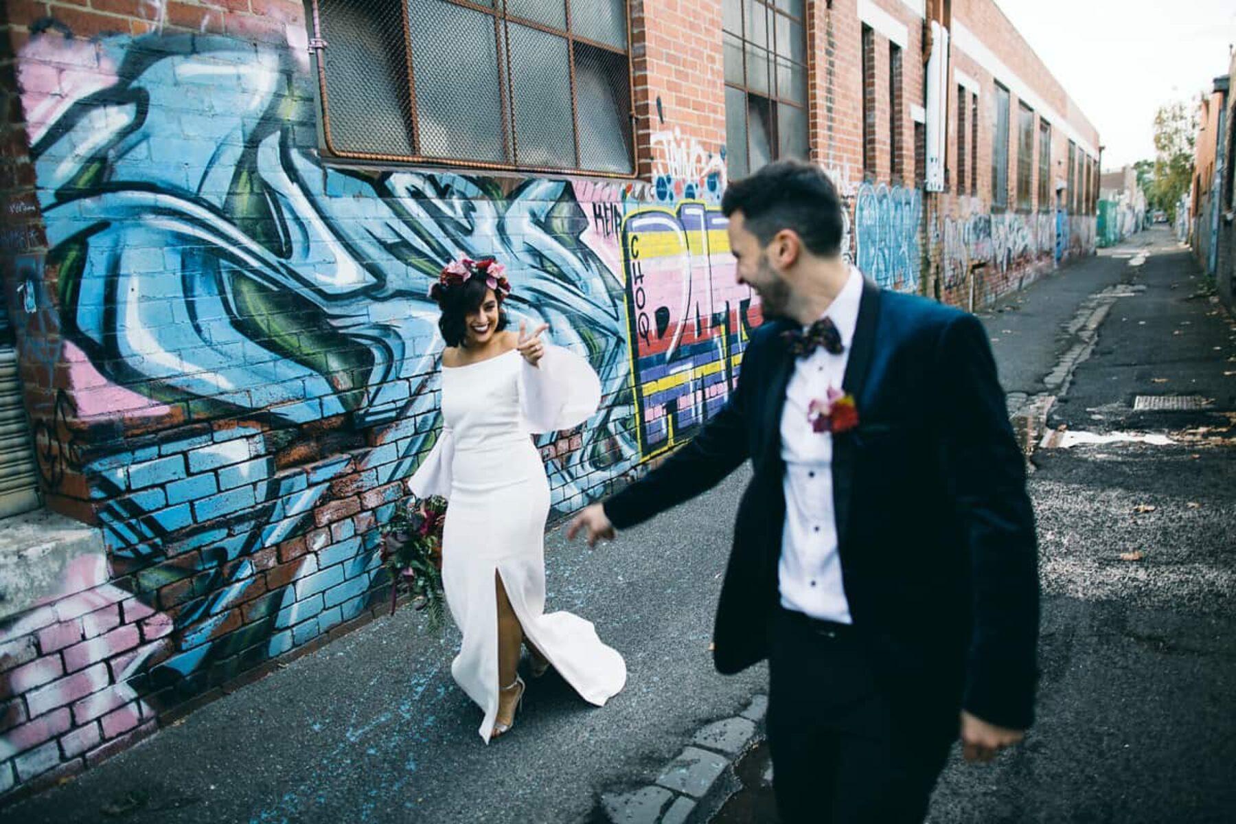Modern Melbourne wedding by Leo Farrell Photography