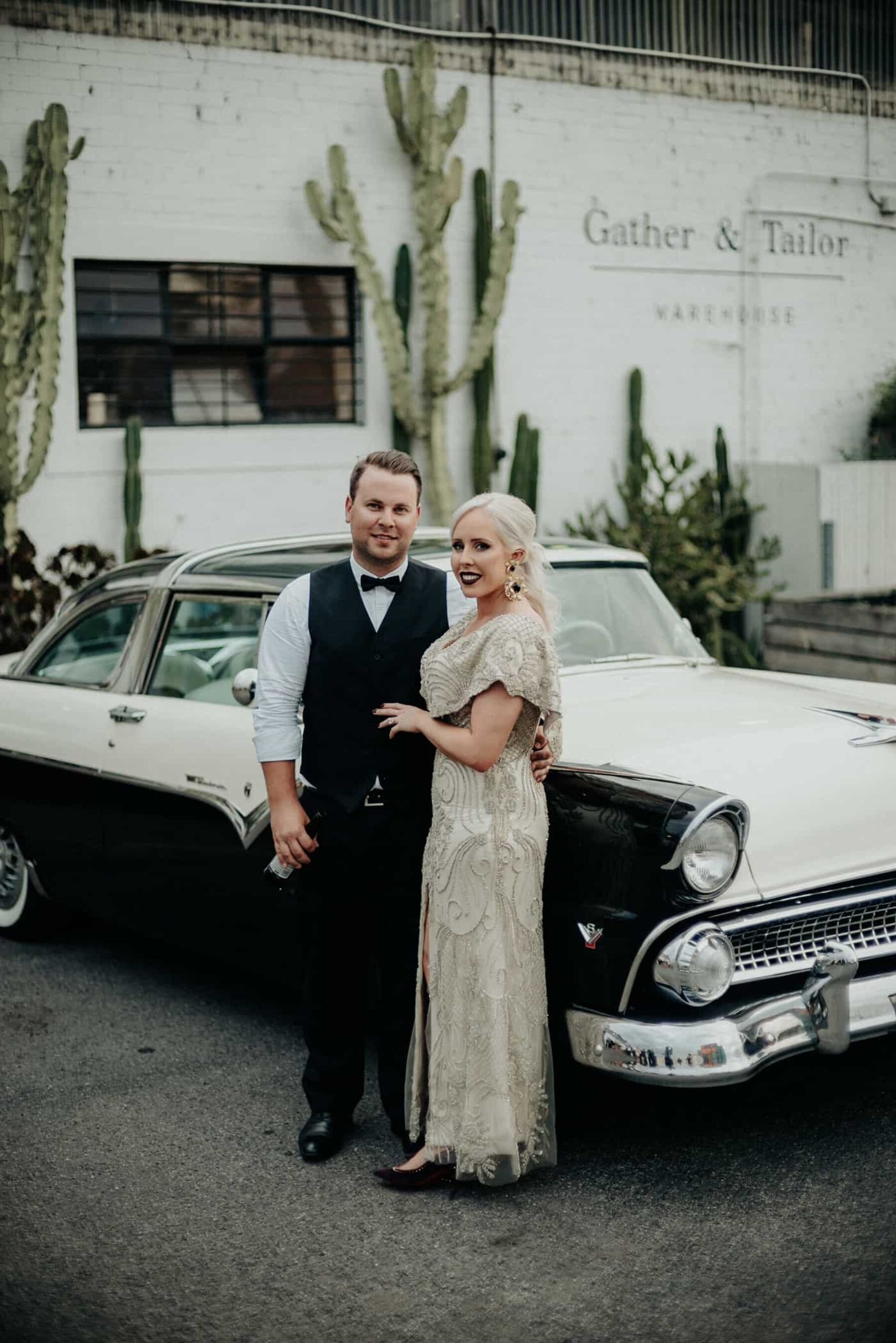Melbourne warehouse wedding at Gather & Tailor