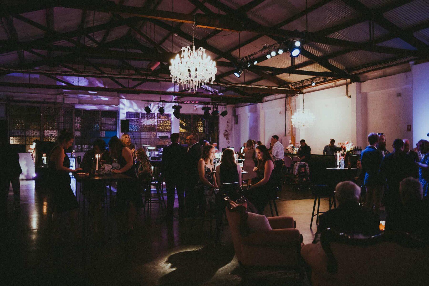 industrial Perth wedding at Fridays Studio - photography by Tanya Voltchanskaya