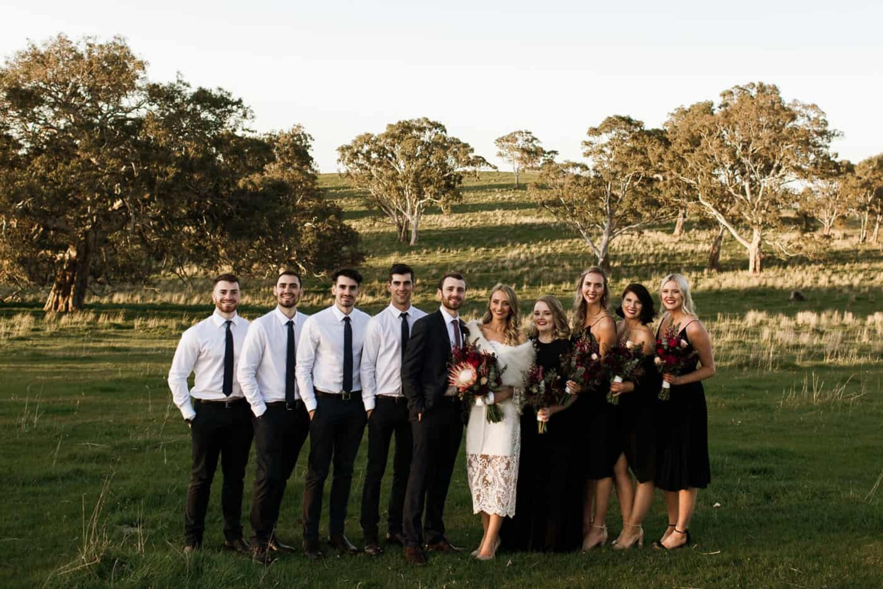 Bright + modern Barossa Valley wedding with epic recovery brunch