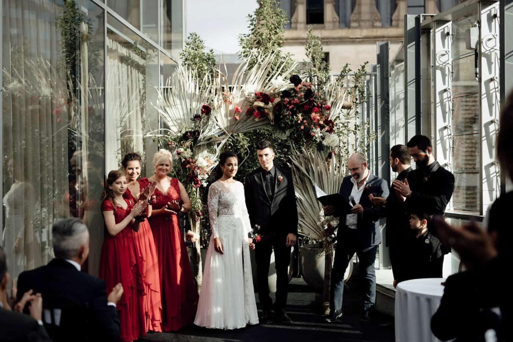 Melbourne wedding at Alto Event Space - Free the Bird Photography