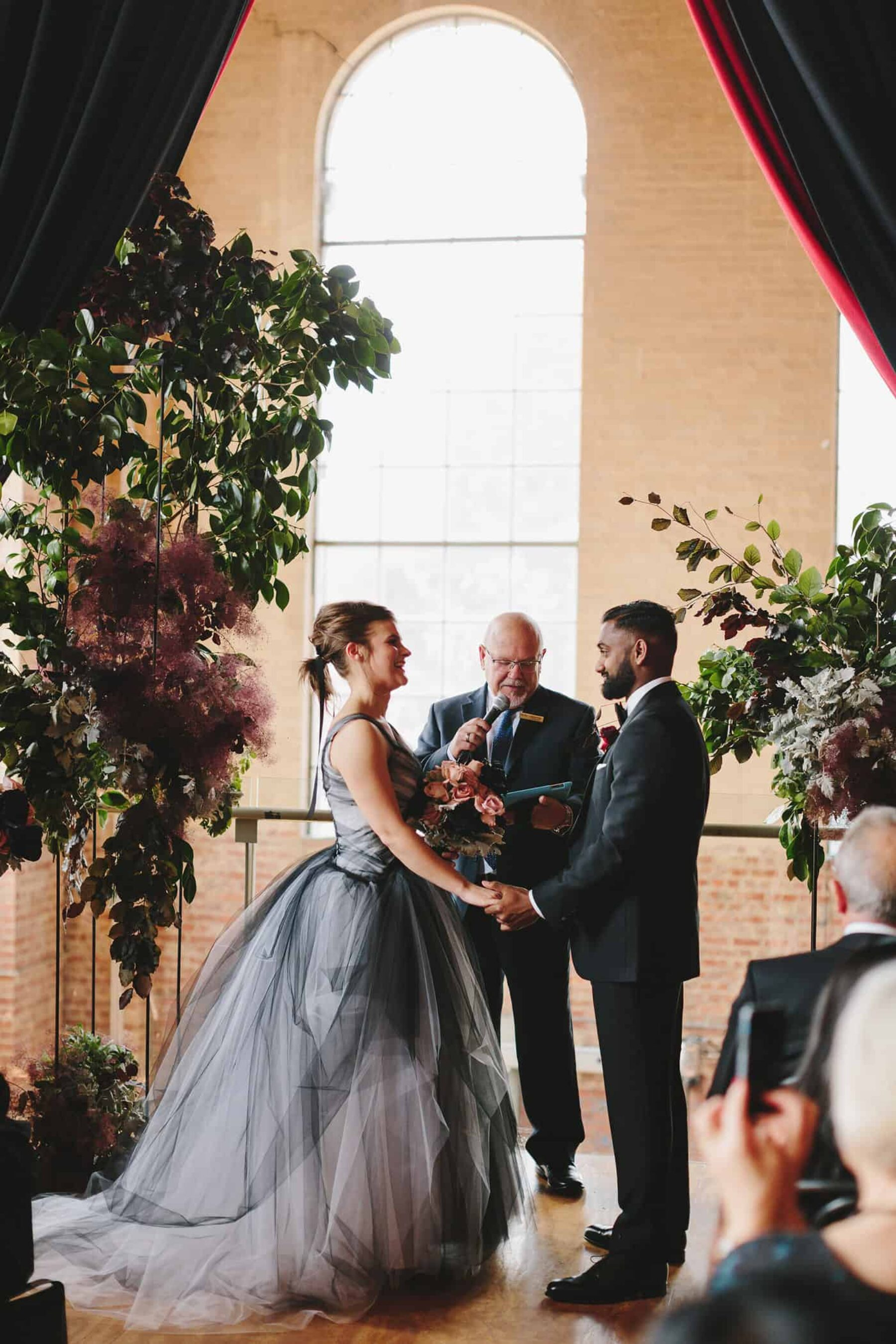 Newport Substation wedding Melbourne / photography by Jonathan Ong